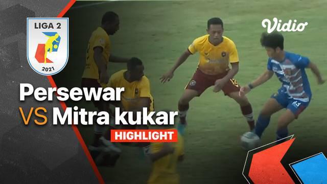 Berita Video, Hasil Pertandingan Persewar Waropen Vs Mitra Kukar pada Kamis (14/10/2021)