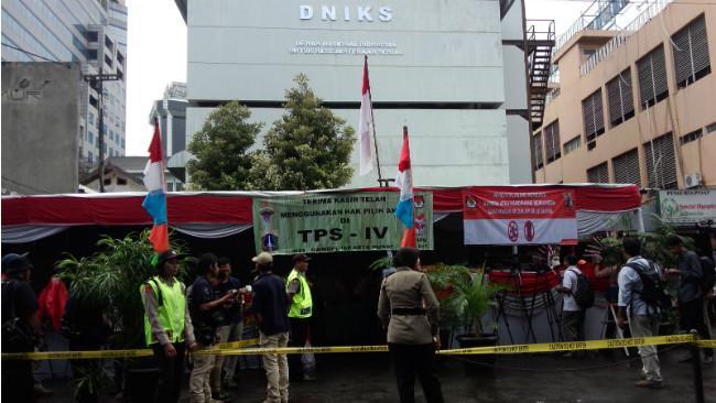 TPS 04 tempat Presiden Jokowi nyoblos pada pilkada putaran pertama. (Liputan6.com/Ahmad Romadoni)