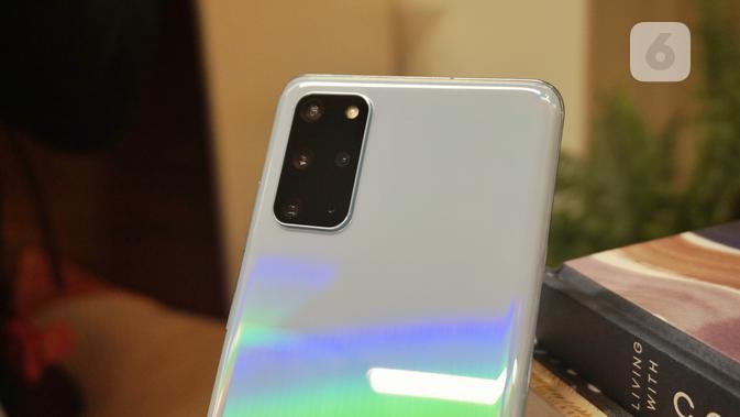 Galaxy S20 Plus diungkap pada Unpacked 2020. (Liputan6.com/ Agustin Setyo Wardani)
