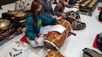 KBRI Seoul kembali mengadakan kelas gamelan sebagai salah satu bentuk dari diplomasi budaya. (Dok: Kemlu RI)
