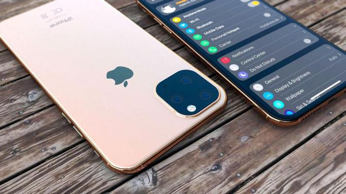 Tampilan render iPhone 11. (Doc: Hasan Kaymak)