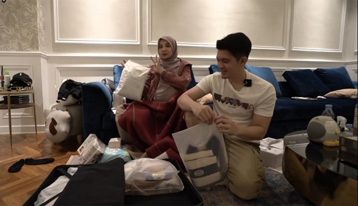 Zaskia Sungkar dan Irwansyah (Youtube/ The Sungkars Family)
