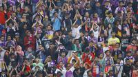 Pertandingan uji coba Persik Kediri melawan PSIS Semarang akan menarik animo besar dari suporter kedua tim. (Bola.com/Robby Firly)