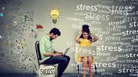 Ilustrasi stres (iStockphoto/Slphotography)