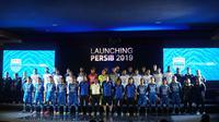 Persib menggelar launching tim, jersey dan sponsor untuk musim 2019, Sabtu (11/5/2019). (Huyogo Simbolon)