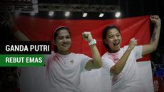 Berita video atlet ganda putri Indonesia, Leani Ratri Oktila, puas bisa meraih medali emas Asian Para Games 2018.