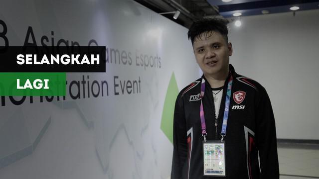 Atlet E-Sports Indonesia, Hendry K Handisurya atau Jothree berpeluang menjadi juara pada gim Hearthstone di Asian Games 2018 usai melaju ke babak final.