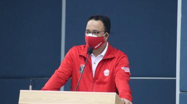 Anies Baswedan lepas kontingen Jakarta ke PON XX Papua