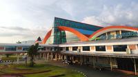 Angkasa Pura I terus melakukan pembenahan Bandara Sentani Jayapura untuk mendukung kesuksesan penyelenggaraan PON XX. (Dok AP I)