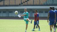 Pelatih Persib Bandung Miljan Radovic terus memantapkan persiapan tim Maung Bandung menghadapi kick off LIga 1 2019. (Huyogo Simbolon)