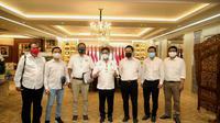 Kementerian Pertanian (Kementan) mendorong para pelaku usaha atau offtaker pertanian untuk bersama-sama mewujudkan lumbung pangan masa depan dalam bentuk food estate yang salah satunya di Sumatera Utara.