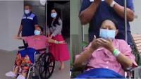 Video Haru Momen Ani Yudhoyono Nikmati Waktu di Rumah Sakit Bersama Keluarga (sumber: Instagram.com/annisayudhoyono)