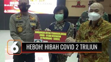 Polda Sumatra Selatan menyatakan, uang keluarga Akidi Tio di tabungan Bank Mandiri ternyata tidak cukup Rp 2 triliun. Polisi akan melanjutkan pemeriksaan terhadap Heryanti, anak bungsu mendiang Akidi Tio dan keluarganya, mengenai kebenaran hibah.