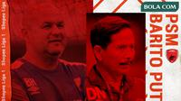 Shopee Liga 1 - PSM Makassar Vs Barito Putera - Duel Pelatih (Bola.com/Adreanus Titus)