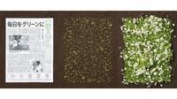 The Mainichi Newspaper yang mengandung benih tumbuhan (Sumber: elitereaders)