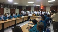 Pansel Capim KPK menggelar tes kesehatan di RSPAD Gatot Soebroto, Jakarta, Senin (26/8/2019). (Liputan6.com/ Muhammad Radityo Priyasmoro)
