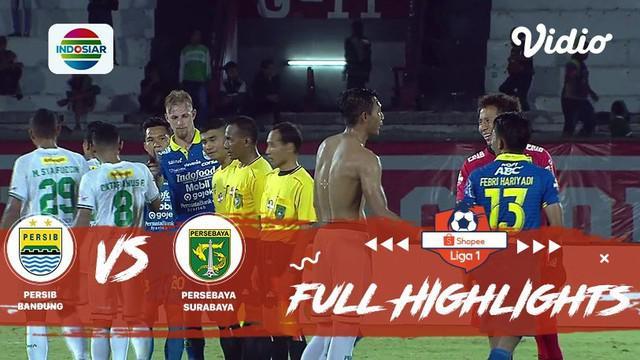 Berita video highlights Shopee Liga 1 2019 antara Persib Bandung melawan Persebaya Surabaya yang berakhir dengan skor 4-1, Jumat (18/10/2019).