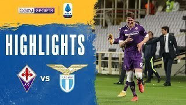Berita video highlights Liga Italia, Lazio kalah 0-2 atas Fiorentina, Minggu (9/5/21)