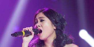 Grand Final ajang pencarian bakat Vidio.com Music Battle 2016 digelar Selasa (23/2/2016) malam di Studio Penta SCTV, Jakarta Barat. (Foto: Dezmond Manullang/Bintang.com)