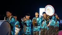 Acara Oceanik Folk Festival Jakarta di Kepulauan Seribu.