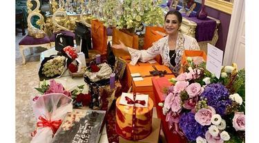 6 Momen Spesial Ulang Tahun Ibu Tasya Farasya, Panen Kado