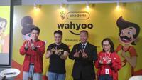 Jumpers peluncuran Akademi Wahyoo di Jakarta Pusat. (Liputan6.com/Henry)