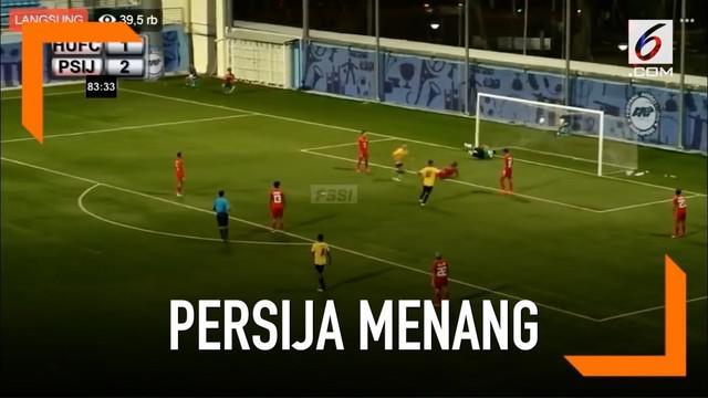 Persija Jakarta menang 3-1 atas tuan rumah, Home United dalam partai kualifikasi ketiga Liga Champions Asia.