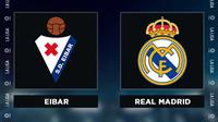 Liga Spanyol: Eibar vs Real Madrid. (Bola.com/Dody Iryawan)