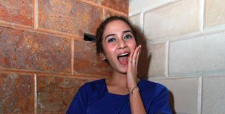 Nina Zatulini pemeran tokoh Aida dalam sinetron 'Pangeran'. (Deki Prayoga/Bintang.com)