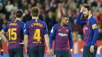 Barcelona kalah 0-2 dari Sevilla pada leg pertama perempat final Copa del Rey