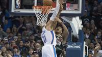 Dunk Giannis Antetokounmpo menangkan Bucks atas Thunder (AP)