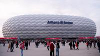 Bayern Munchen bangun masjid dekat Allianz Arena yang cukup megah dan futuristik (SVEN HOPPE / DPA / AFP)