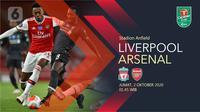 Liverpool vs Arsenal (Liputan6.com/Abdillah)