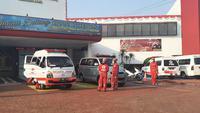 Puluhan orang meninggal dunia dalam kebakaran di Lapas Klas I Tangerang. (Liputan6.com/Pramita Tristiawati)