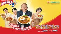 """Mie Sukses's isi 2, salah satu lini produk mi instan dari Wings Food, tahun ini kembali menggelar """"Hajatan Mie Sukses's Isi 2 Se-Indonesia""""."""