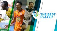 Pemain terbaik Liga 1 2018. (Bola.com/Dody Iryawan)