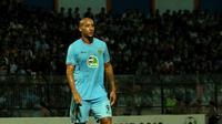 Striker Persela Lamongan, Loris Arnaud. (Bola.com/Aditya Wany)