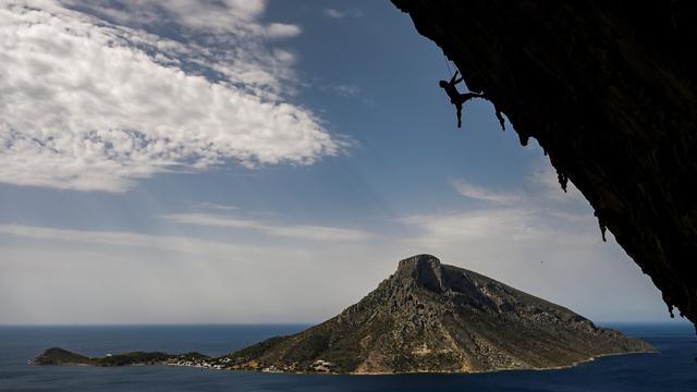 400 Pendaki Ikuti Panjat Tebing di Pulau Kalymnos