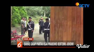 Salah satu hal yang dibahas adalah sikap Gerindra usai pertemuan antara Prabowo dan Presiden Jokowi beberapa waktu lalu.
