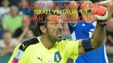 Video highlights Israel vs Italia yang berakhir dengan skor 1-3 dalam lanjutan kualifikasi Piala Dunia 2018.