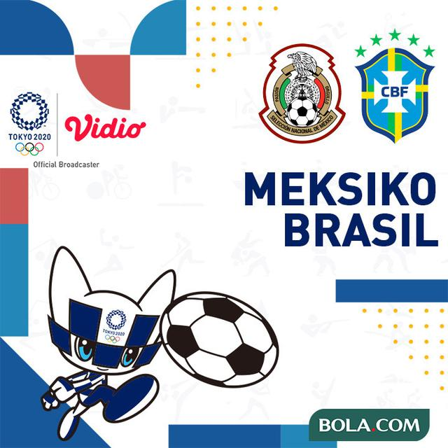 Link Live Streaming Semifinal Sepak Bola Olimpiade Tokyo ...