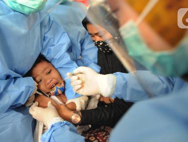 Pemberian Imunisasi untuk Anak Sekolah di Kota Depok
