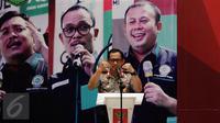 Kapolri Jenderal Pol Tito Karnavian memberikan pemaparan saat Muspimnas DKN Garda Bangsa di Jakarta, Kamis (19/1). Muspimnas tersebut membahas tentang deradikalisasi, intoleransi, dan terorisme beserta solusinya. (Liputan6.com/Johan Tallo)