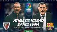 La Liga - Athletic Bilbao Vs Barcelona (Bola.com/Adreanus Titus)