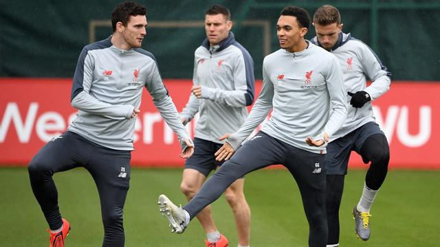 Latihan FC Porto Vs Liverpool