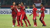 Timnas Indonesia U-19 menang 4-1 atas Filipina, Kamis (5/7/2018) di Stadion Gelora Delta, Sidoarjo. (Bola.com/Aditya Wany)