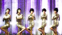 Wonder Girls saat masih berbentuk girlband dalam penampilannya lewat lagu Nobody (2008)