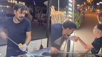 Biasa Jahili Pelanggan, Aksi Penjual Es Krim Turki Ini Malah Menyentuh Hati (Sumber: Instagram/cilgin_dondurmaci)