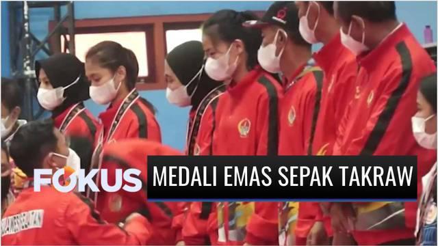 Berita video update PON Papua 2021 dari cabor (cabang olahraga) sepak takraw, di mana medali emas diboyong kontingen Sulawesi Selatan, dan pelari Agus Prayogo kini sudah meraih 2 medali emas.