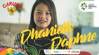 Garuda Kita Asian Games Dhanielle Daphne (Bola.com/Adreanus Titus/Nicklas Hanoatubun)